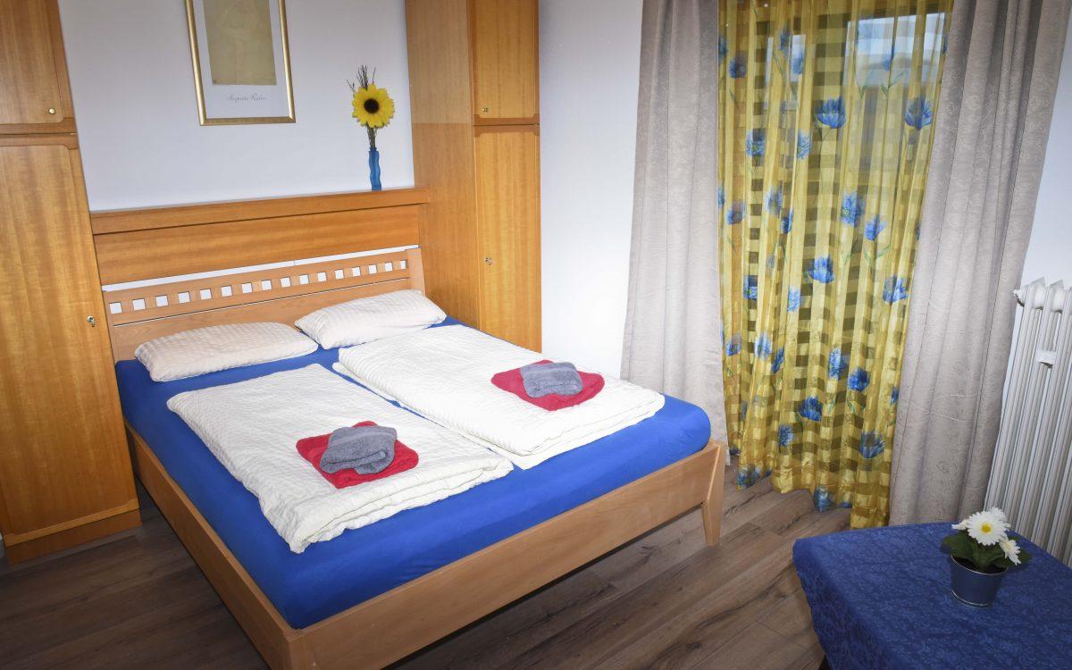 Ferienwohnung 2 - Schlafzimmer5 - Gästehaus Friedlich in Schönau am Königssee