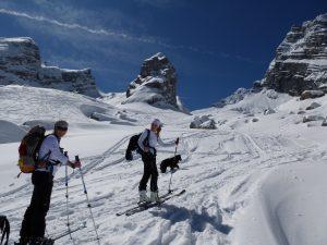Skitour im Watzmannkar