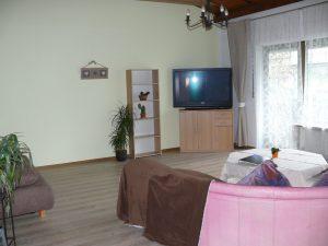 Gästehaus Friedlich - Schönau am Königssee - FeWo4 - Wohnzimmer