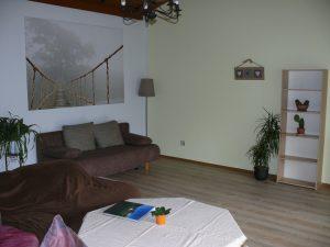 Gästehaus Friedlich - FeWo4 - Wohnzimmer