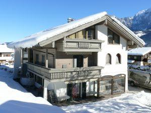 Gästehaus Friedlich Schönau Königssee im Winter