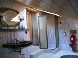 Gästehaus Friedlich - Zimmer 11 Jennerwiese - Badezimmer