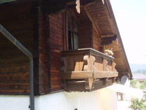 Gästehaus Friedlich - Zimmer 11 Jennerwiese - Balkon