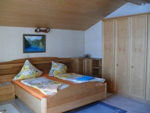 Gästehaus Friedlich - Zimmer 11 Jennerwiese - Schlafzimmer