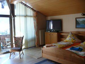 Gästehaus Friedlich - Zimmer 11 Jennerwiese - Doppelzimmer mit Balkon