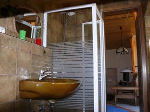 Gästehaus Friedlich Zimmer 12 Pferdewiese - Bad