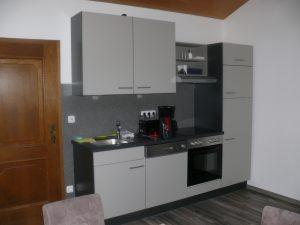 Gästehaus Friedlich-FeWo5-Wohnküche