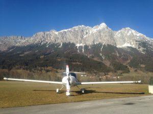 Rundflüge über den Alpen mit Rudi Kastner